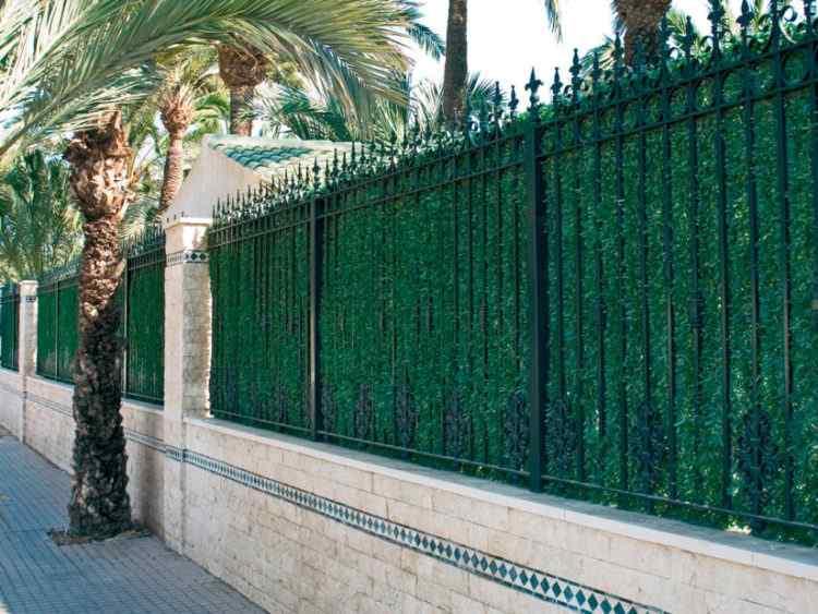 Setos artificiales para vallas y cercados tienda de jardineria online - Setos para vallas ...