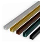 PERFIL REMATE PVC U 2.06 NEGRO