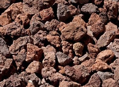Piedras Volcanicas Saco de 20 Litros - 25/50