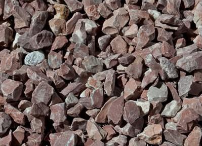 Piedra Triturada Rojo Alicante 20kgs - 9/20