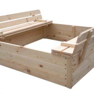 arenero de madera infantil antz
