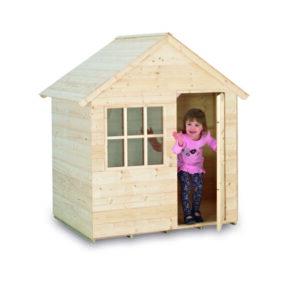 casita de madera pino