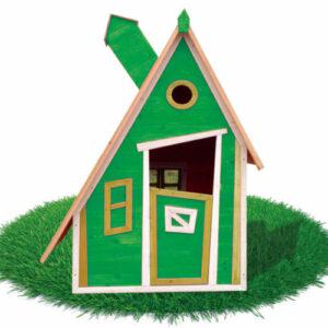 casita peter color verde