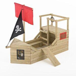 galeon pirata de madera