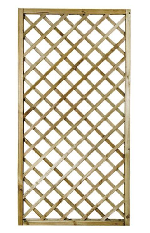 Panel Celosia Madera Tratada - 50 x 180 cm
