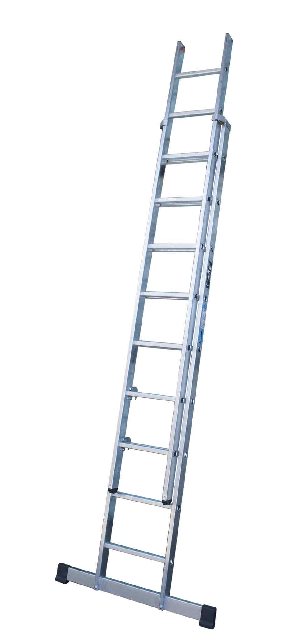 Escalera doble extensión manual - 6 x 2 Peldaños