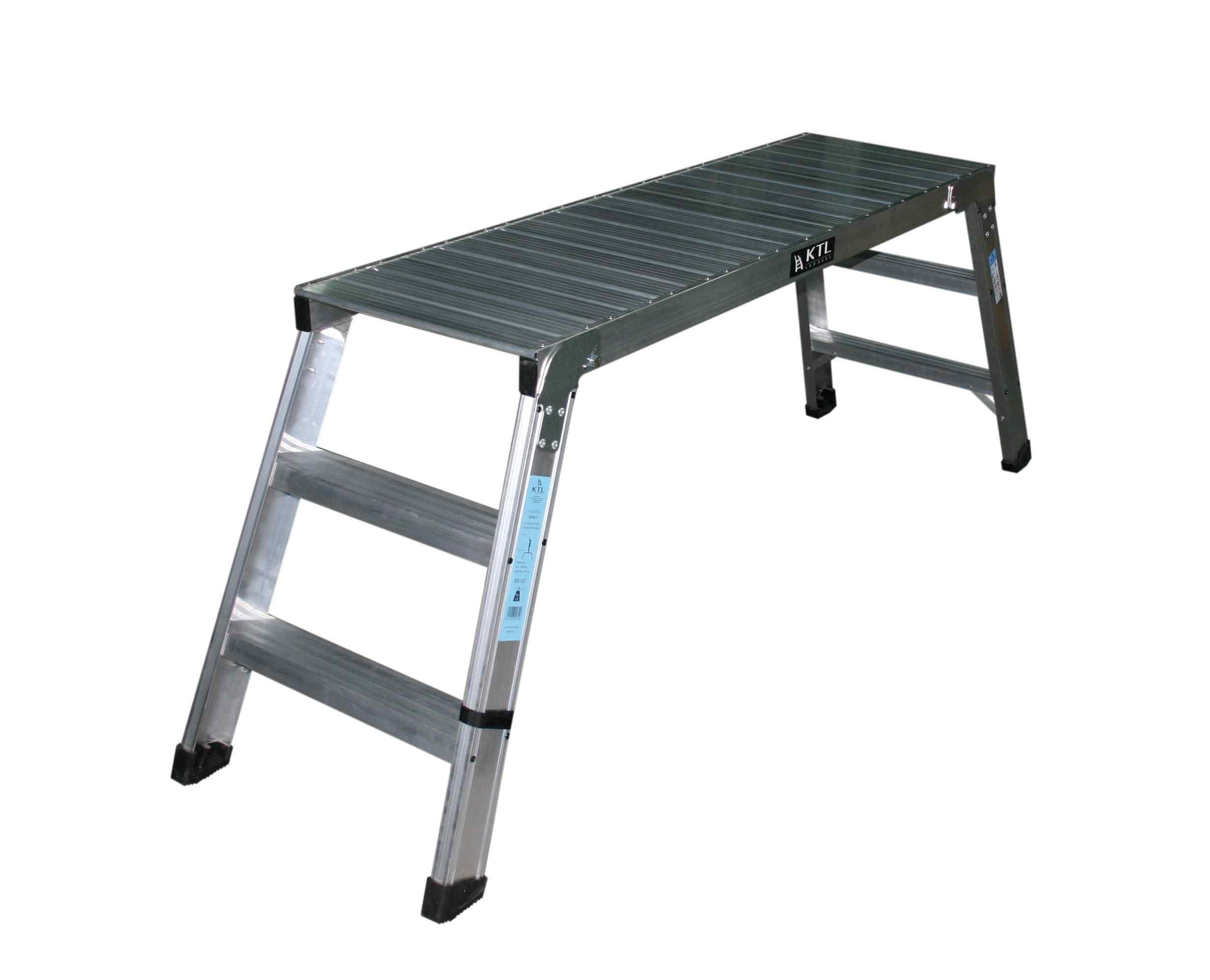 Andamio Plegable y Portatil - 1 Peldaños - Plataforma 30 x 90cm