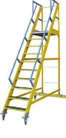 Escalera de Fibra para Almacen 55º - 3 Peldaños