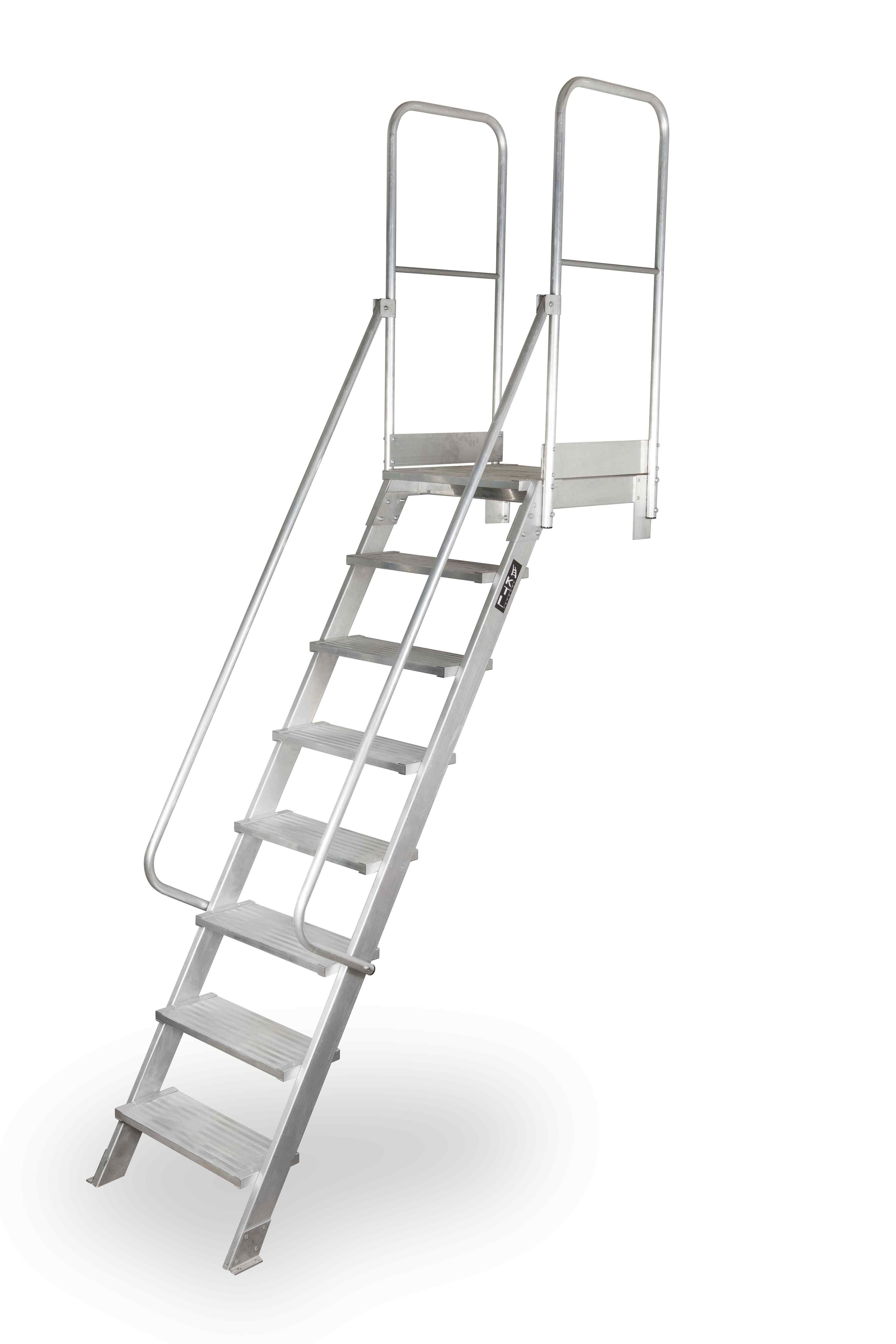 Escalera Acceso con Plataforma 60º - 3 Peldaños